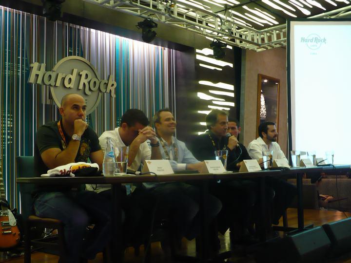 Hard Rock Cafe Santiago Trabajo
