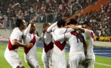 Festejo Seleccion peruana de futbol - serperuano 2