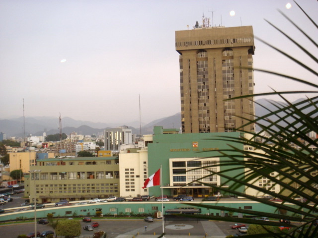 Destituyen a inspector general de la polic a nacional for Imagen del ministerio del interior