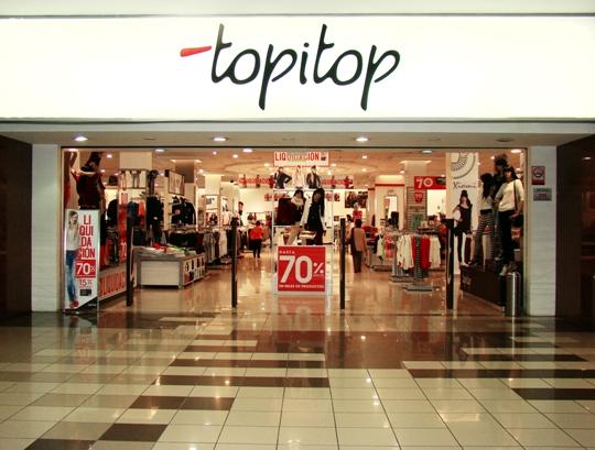 Topitop Inaugura Moderna Tienda En Centro Comercial Real