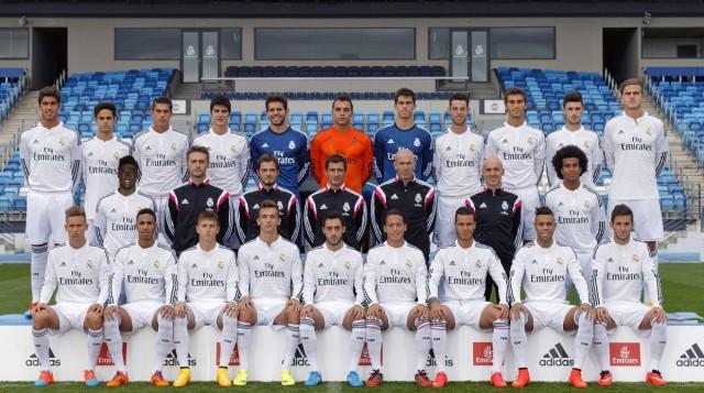 Real Madrid Castilla Portrait Session