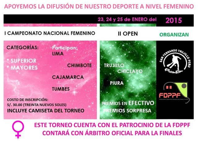 Nacional Femenino FDPPF