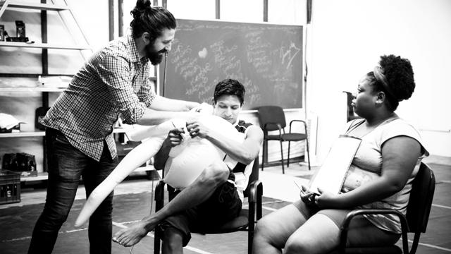 Dario, Andres y Anai