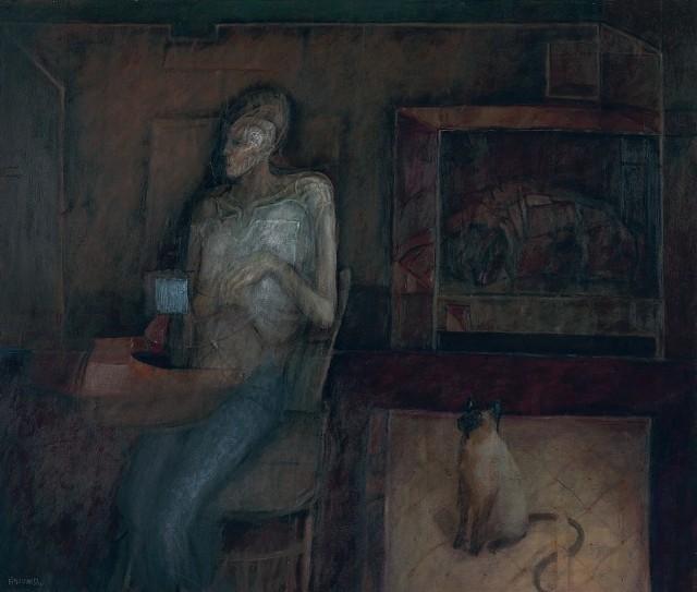 5. Fito Espinoza, 1995. Recostado sobre la noche