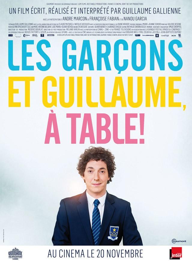 6 Les garçons et Guillaume, à table
