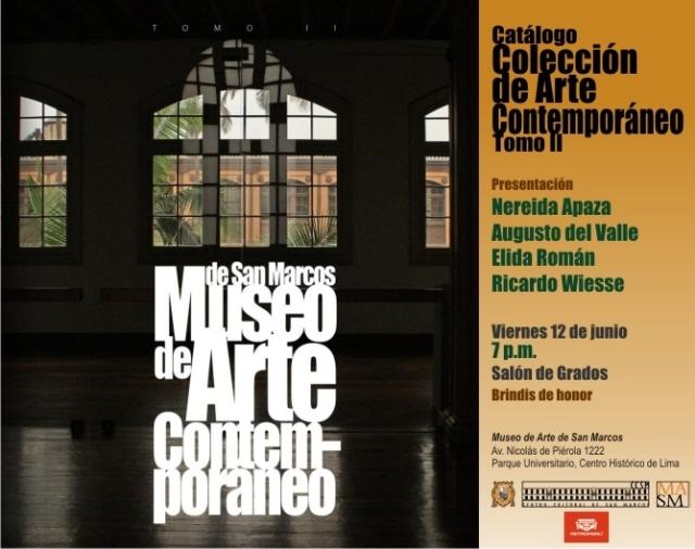 Colección de arte contemporáneo del Museo De Arte De San Marcos Tomo ...