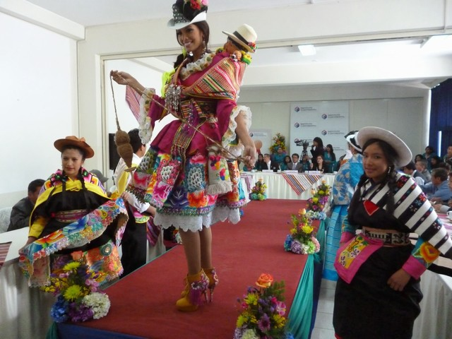 traje tipico  Huancayo 1