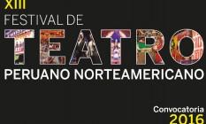 XIII FESTIVAL DE TEATRO NORTEAMERICANO portada
