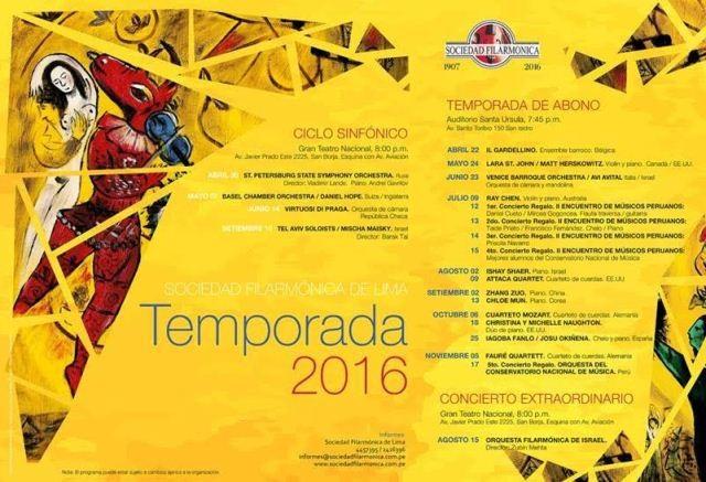 SOCIEDAD FILARMONICA 2016