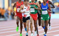 Atleta peruano Luis Ostos
