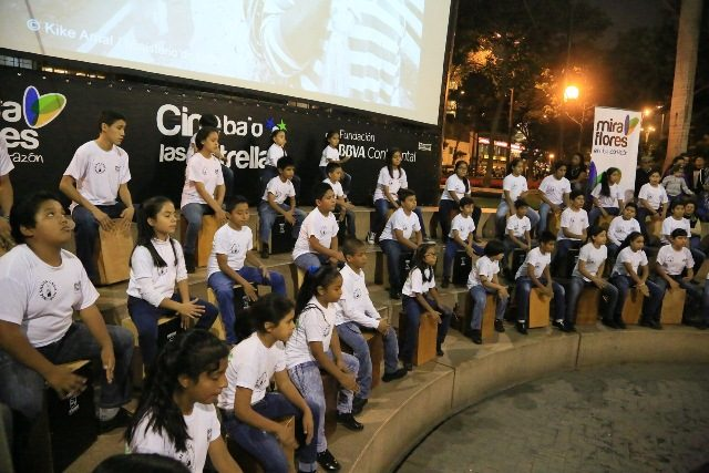 Ensamble de Percusión en el  Anfiteatro Chabuca Granda_2
