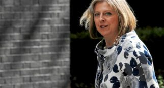 ministra británica del Interior, Theresa May