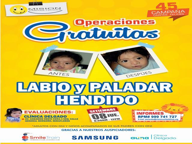 afiche caritas felices