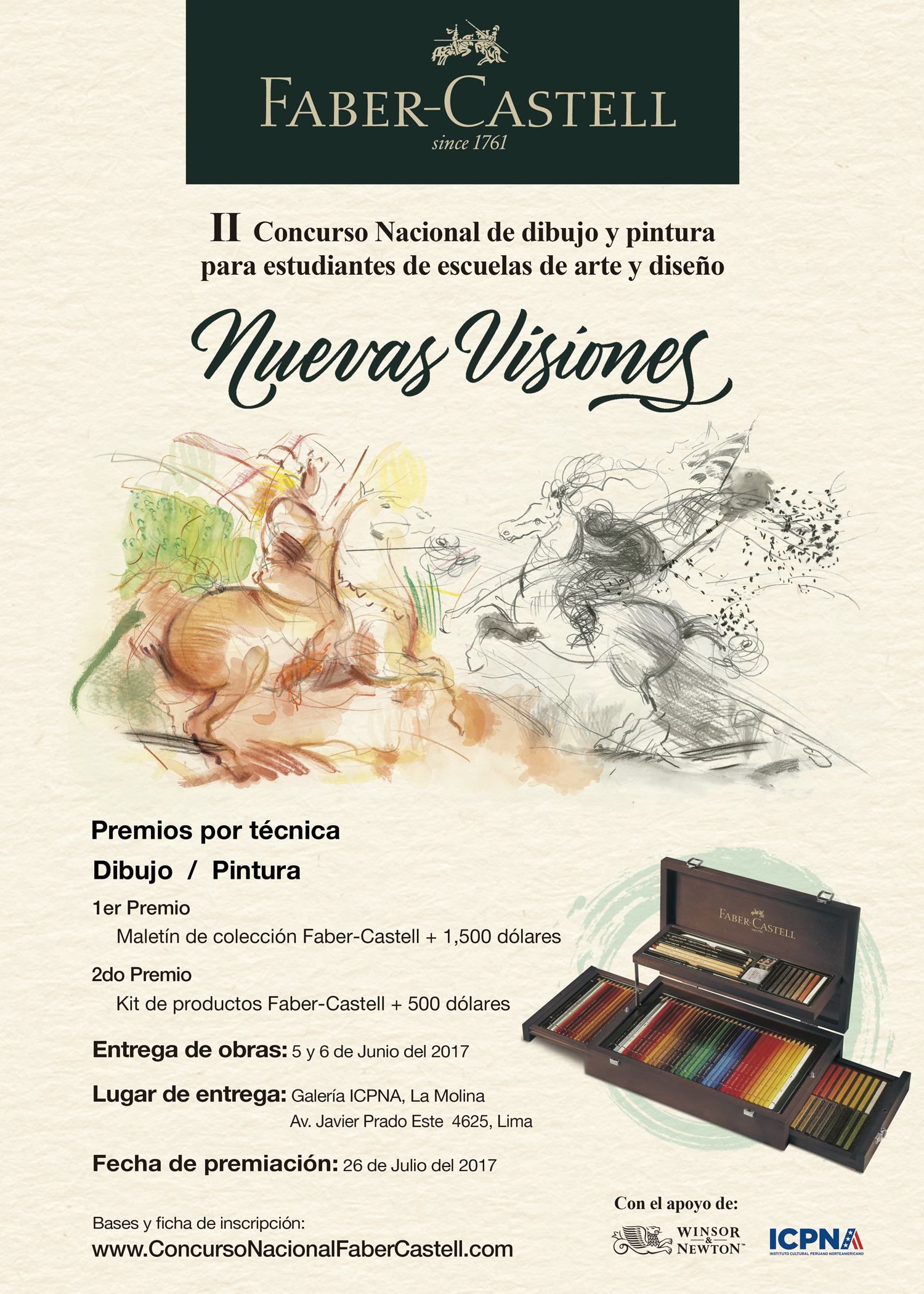 II Concurso Nacional de dibujo y pintura para estudiantes de