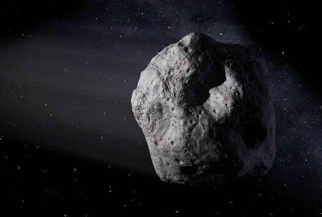 El inmenso asteroide podrá ser medido por la NASA
